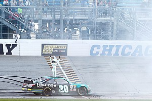 NASCAR XFINITY Race report Erik Jones secures place as top Chase seed with Chicagoland win