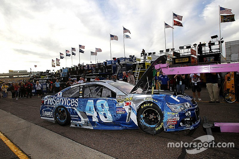 Johnson takes blame for dislodged steering wheel and crash
