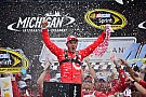 NASCAR Sprint Cup Kyle Larson earns first ever Sprint Cup win at Michigan