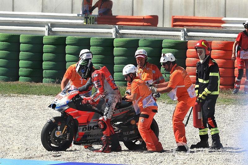 Dovizioso se impone en Misano y Márquez amplía su liderato