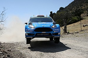 WRC Race report Østberg jumps to second thanks to Mexico podium
