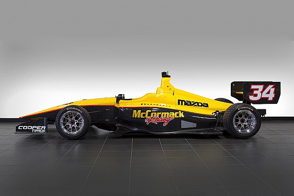 Indy Lights Breaking news Davey Hamilton Jr. set for Indy Lights ride with McCormack