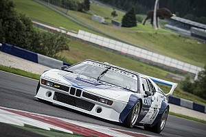 Vintage Breaking news Gallery: Berger and Quester test BMW M1 Procars at Spielberg