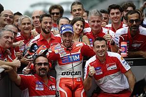 "MotoGP Breaking news Dovizioso: Second career win ""took too many years"""