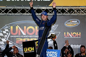NASCAR Truck Race report Kennedy becomes first France family member to win NASCAR race