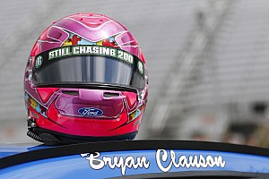 NASCAR Sprint Cup Breaking news Stenhouse drives Bryan Clauson tribute car to career-best finish