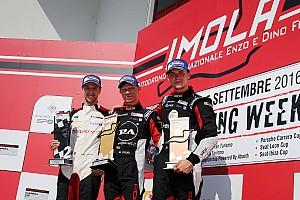 Carrera Cup Italia Ultime notizie Imola Carrera Cup Italia: parla il podio di Gara 1