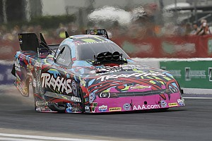 NHRA Qualifying report C. Force, Torrence, Enders and Hines lead Friday qualifying at Mile-High Nationals at Denver