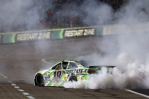 NASCAR Sprint Cup Race report Kyle Busch wins for the fourth time in eight days