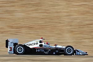 IndyCar Practice report Castroneves heads Andretti in Sonoma's opening practice
