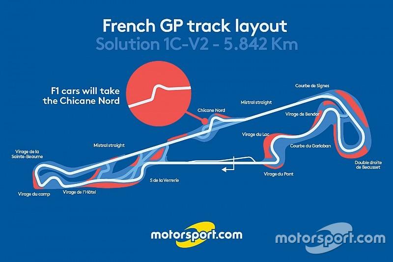 【F1】2018年復活のフランスGP。ポール・リカールのレイアウト案