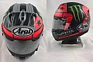 Vinales cambia il casco per il suo primo anno da pilota ufficiale Yamaha