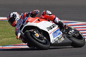 MotoGP Practice report Argentina MotoGP: Dovizioso edges Marquez in opening practice