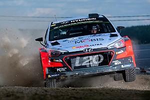 WRC Leg report Hyundai Motorsport in striking distance of Rallye Deutschland lead on day one