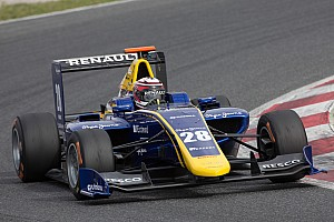 GP3 Testing report Jorg, Hughes lead DAMS 1-2 as GP3 testing concludes