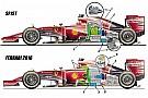 Ferrari: quanti componenti spostati nella power unit!