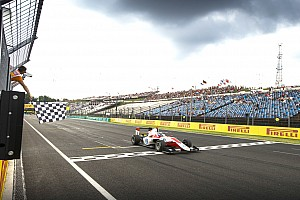GP3 Race report Hungary GP3: Albon takes points lead with Sunday win