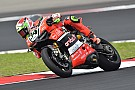 World Superbike Davide Giugliano in 3rd place after the first day of practice in Donington