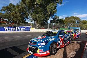 """Supercars Breaking news Van Gisbergen still learning from """"quick old man"""" Lowndes"""