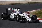 Williams won't run 2016 nose at Barcelona