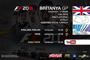 SİMÜLASYON DÜNYASI Son dakika F1 2016 online turnuva: Britanya GP - Canlı Yayın