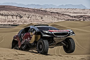 Cross-Country Rally Stage report Silk Way Rally Stage 12: Loeb looses his way ! - video