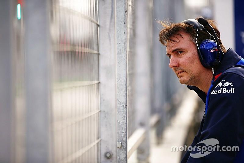 La llave del cambio en McLaren