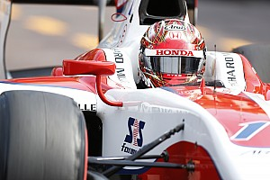 GP2 Breaking news Giovinazzi penalty hands Matsushita pole for Monaco sprint