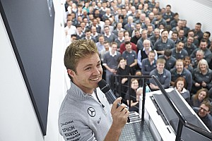 Rosberg accepts ambassadorial role at Mercedes