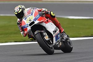 MotoGP Practice report Silverstone MotoGP: Iannone heads Vinales in second practice