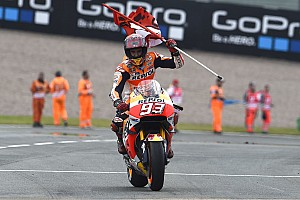 "MotoGP Breaking news Marquez took ""a lot of risks"" on way to German GP victory"