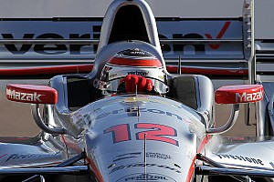 IndyCar Practice report Power dominates first practice at Detroit