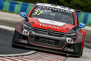 WTCC Qualifying report Hungary WTCC: Lopez sees off Coronel in qualifying