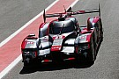 WEC  Audi on second and third rows at Spa
