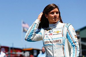 New attitude helps Danica Patrick to season's best start at Sonoma