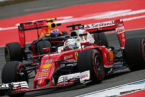 "Vettel: Ferrari ""not here to finish fifth and sixth"""