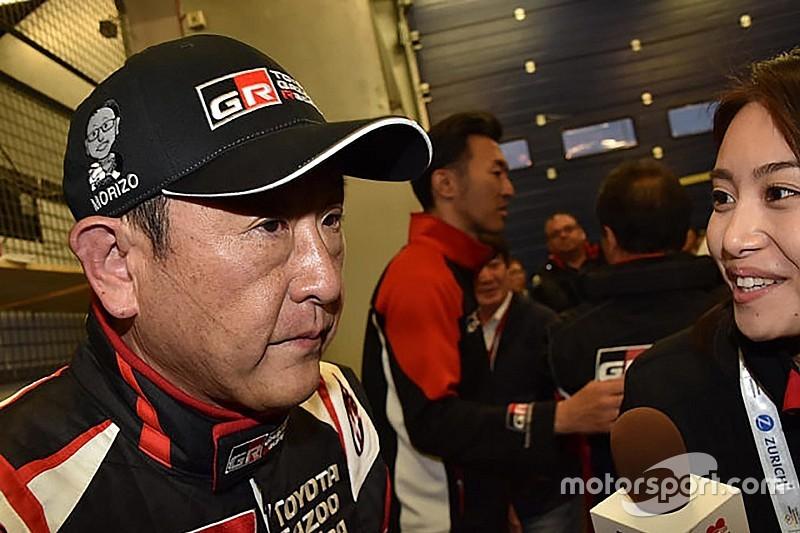 豊田章男社長がニュル24Hに登場、レクサスRCをドライブ