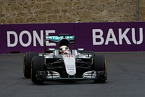 Formula 1 Practice report European GP: Hamilton stays on top in FP2 as Rosberg hits trouble