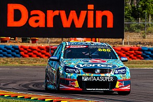 Supercars Qualifying report Darwin V8s: Lowndes takes provisional Sunday pole