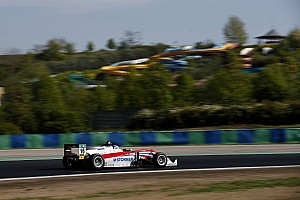 F3 Europe Race report Hungaroring F3: Aron takes maiden F3 win in hectic Race 1