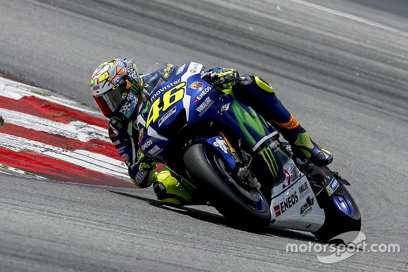 Rossi still not comfortable with 2016 Yamaha