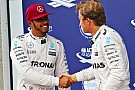 Formula 1 Hamilton says Rosberg relationship in better state than ever