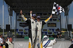 IMSA Race report Corvette takes victory at VIR with Magnussen and Garcia