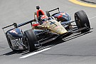 IndyCar Hinchcliffe, Aleshin credit team with promising oval runs