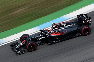 Button gets new power unit components for race