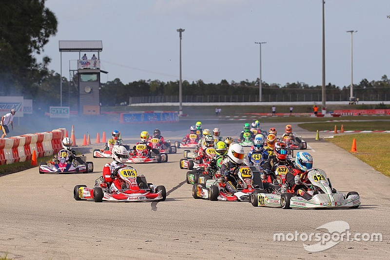 Points shake-up in qualifying for ROK's Championship Sunday