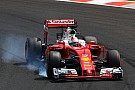 """Sleeping"" Button cost me top-three starting spot, claims Vettel"