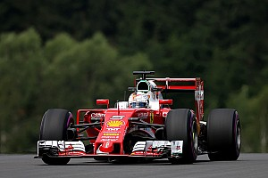 Austrian GP: Vettel leads Ferrari 1-2 as Rosberg crashes heavily