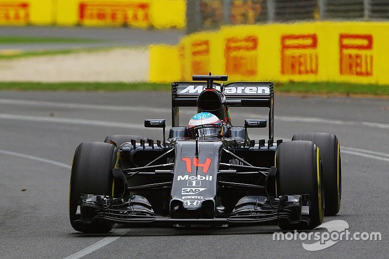 McLaren pace a