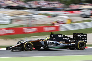 Formula 1 Race report Sahara Force India scores six points in today's Spanish GP